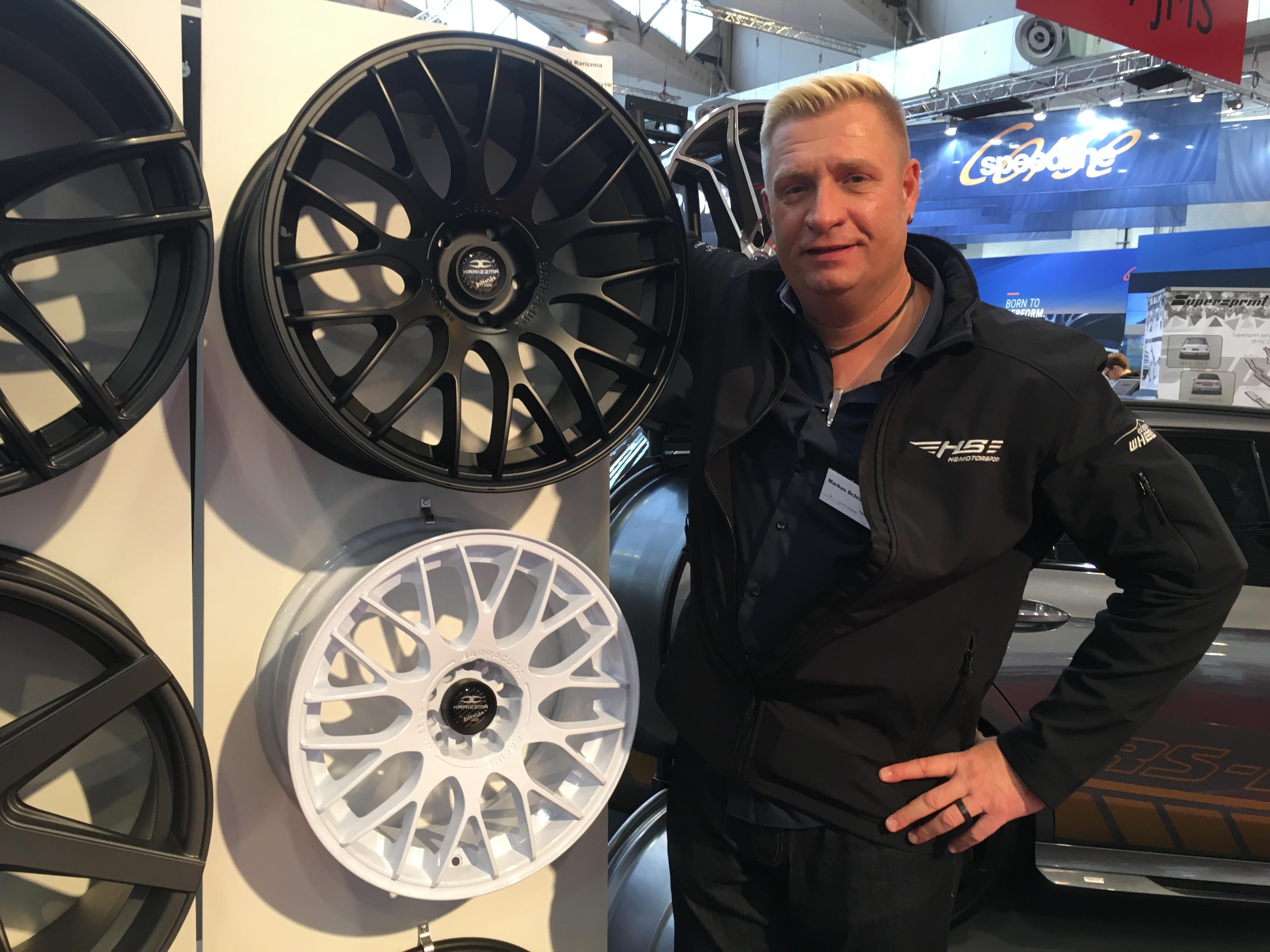 Neue Felge von Barracuda Racing Wheel Karrizma