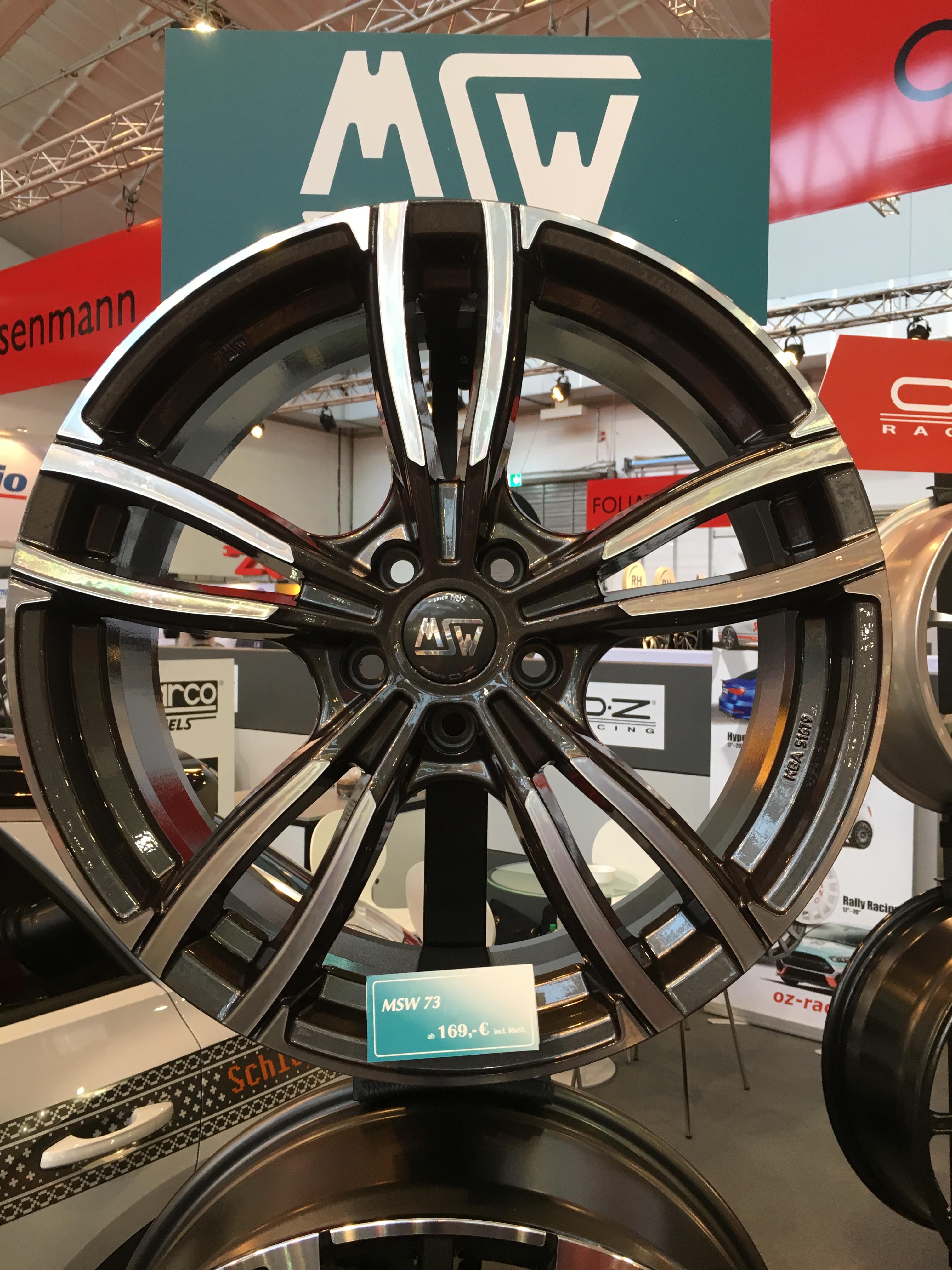 Radhersteller OZ erweitert seine Linie MSW um das Design 73