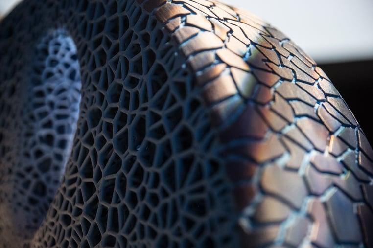 Michelin_Visionary-Concept, das abgefahrene Profil kann erneuert werden