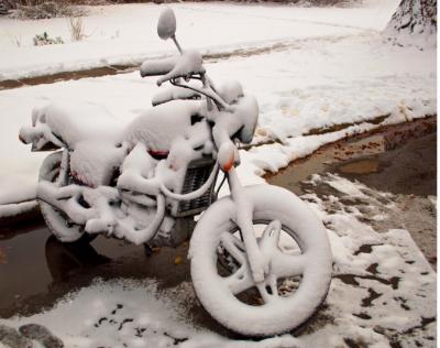Winterreifenpflicht bei Motorrädern