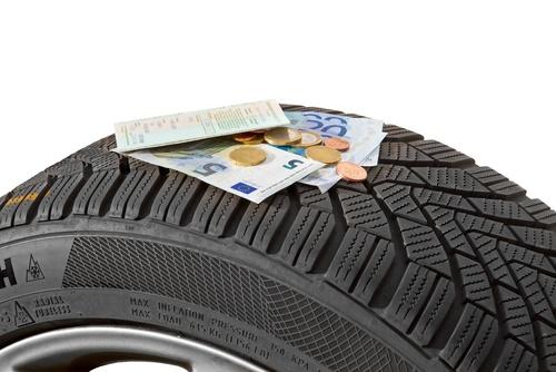 RDKS verringert den Reifenverschleiß und spart damit Geld.