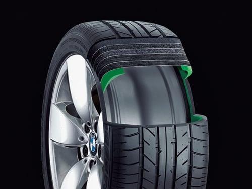 BMW Runflat Ausschnitt