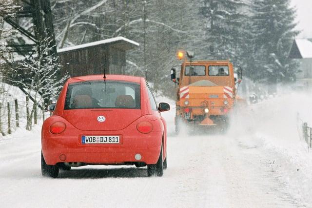 Winterreifen sind gefragt im Schneechaos