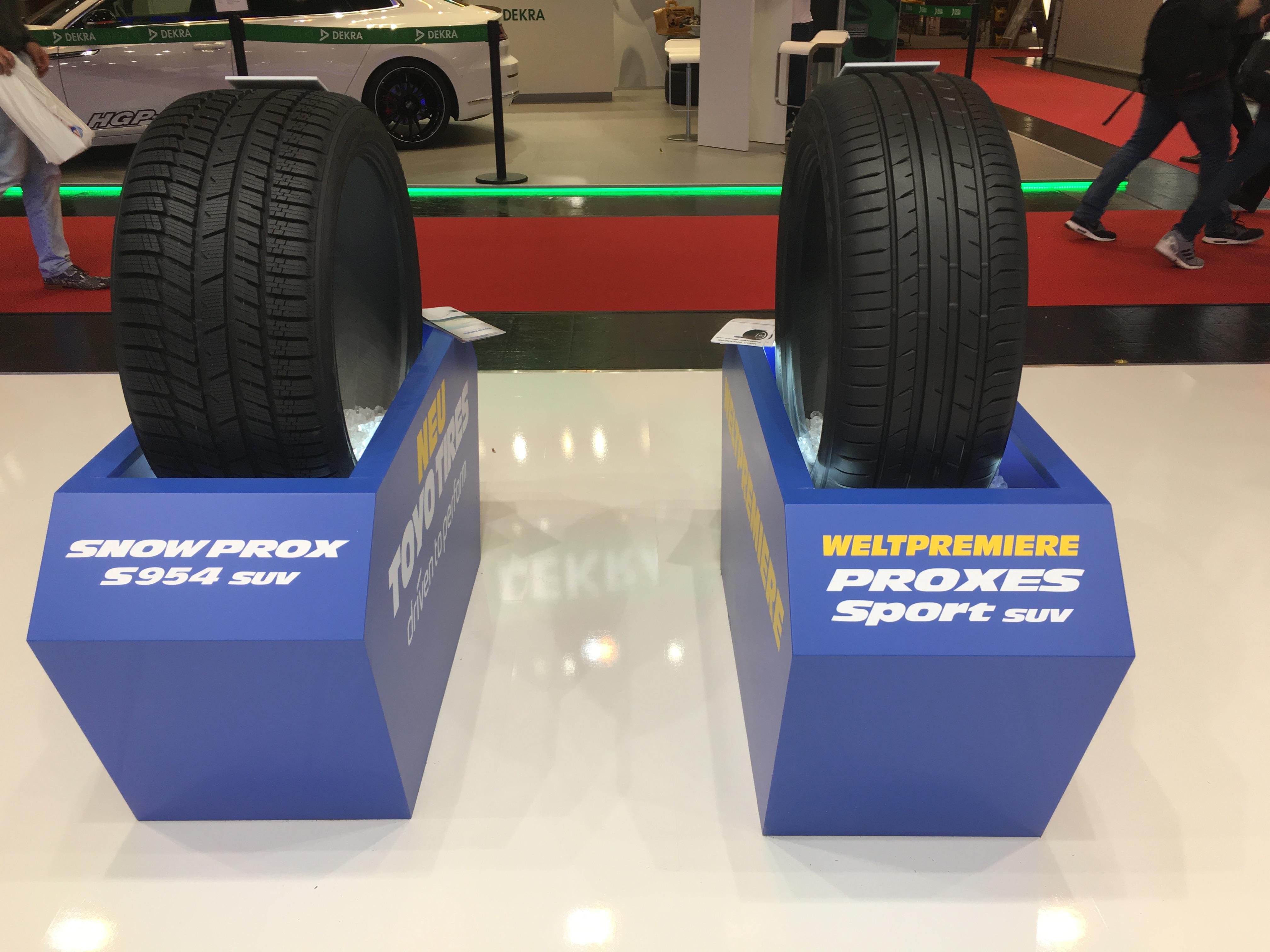 Neue Reifen von Toyo auf der Essen Motor Show 2017